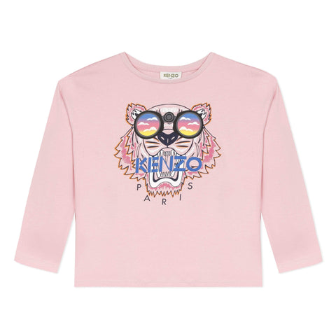 Kenzo Chandails Chandail rose Pink shirt
