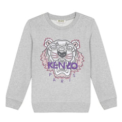 Kenzo Pulls Pull gris Grey sweat shirt