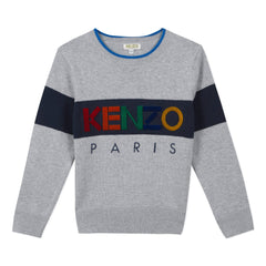 Kenzo Pulls Pull gris Grey sweater