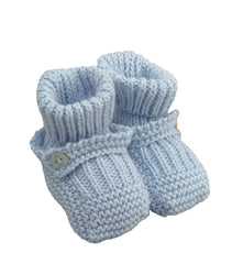 Laranjinha Accessoires Bottillons en tricot Knitted booties