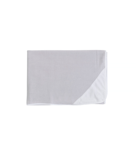 Laranjinha Accessoires O/S / Gris Couverture blanc et gris White and grey blanket