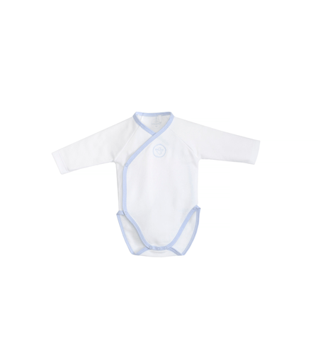 Laranjinha Pyjamas 9M / Bleu Body blanc et bleu White and blue body