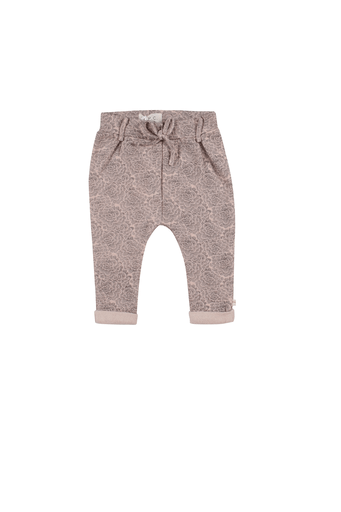 Les Petites Choses Pantalons 6Y / Rose Pantalon fleuri rose Pink pants with flower print