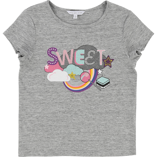 Little Marc Jacobs Chandails 14Y / Gris Chandail imprimé Sweet Sweet printed T-shirt