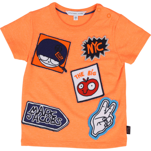 Little Marc Jacobs Chandails 14Y14Y / Orange tee-shirt orange orange tee-shirt