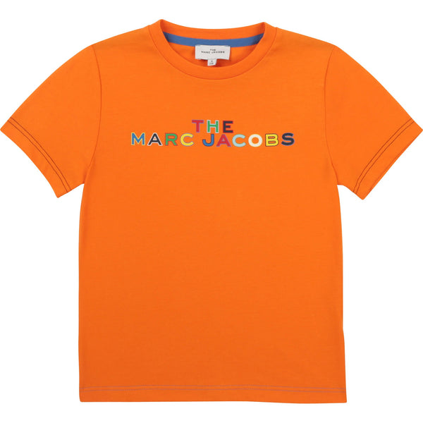 Little Marc Jacobs Chandails Chandail orange TMJ orange t-shirt