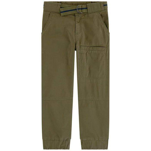 Little Marc Jacobs Pantalons Pantalon olive foncé Dark olive pants