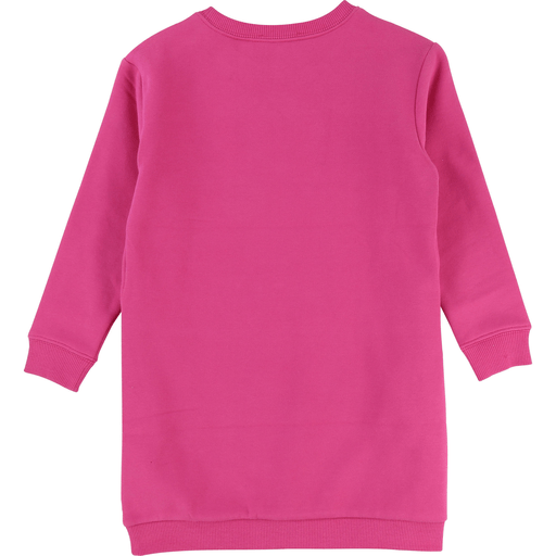 Little Marc Jacobs Robes 10Y / Blanc Robe fuchsia en coton ouaté Fuchsia sweatshirt dress
