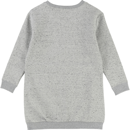 Little Marc Jacobs Robes 14Y / Gris Robe grise en coton ouaté Grey sweatshirt dress