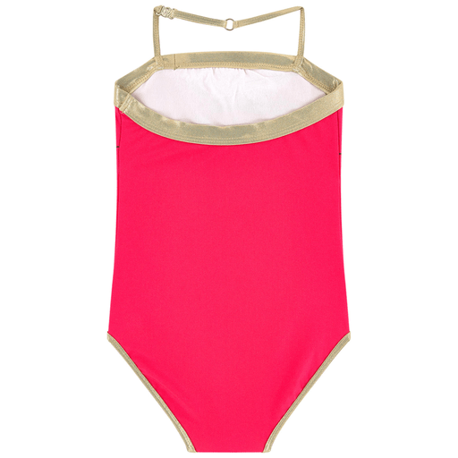 Little Marc Jacobs Tenues de bain 10Y / Rose Maillot de bain rose et or Pink and gold swimsuit