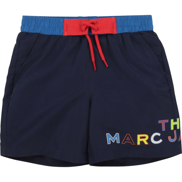 Little Marc Jacobs Tenues de bain Short de bain marine TMJ navy swimwear