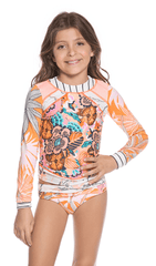 Maaji Tenues de bain 14Y / Orange Haut de maillot Swimsuit top
