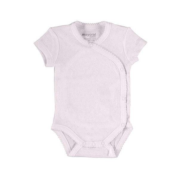 Mayoral Chandails Body rose en pointelle Pink pointelle body