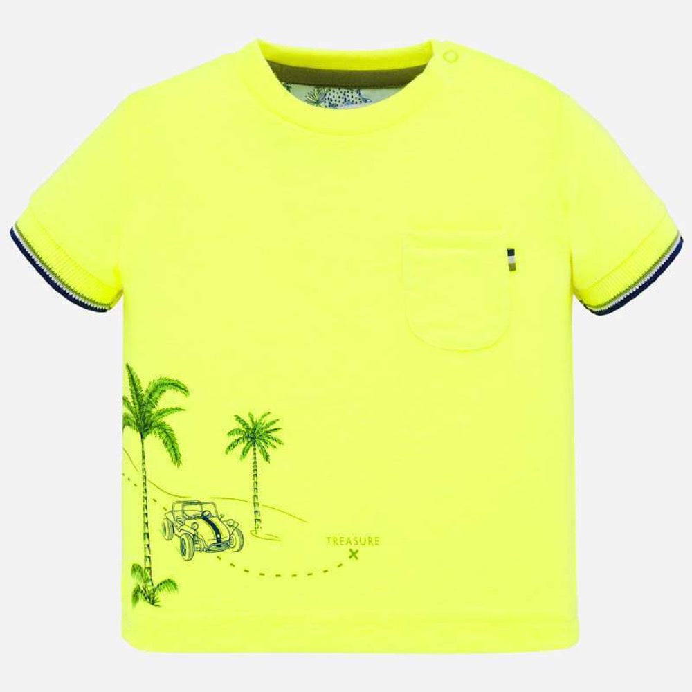 Mayoral Chandails Chandail jaune Neon Yellow t-shirt