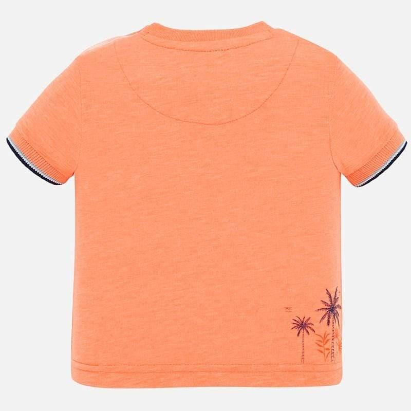 Mayoral Chandails Chandail orange Neon Orange t-shirt
