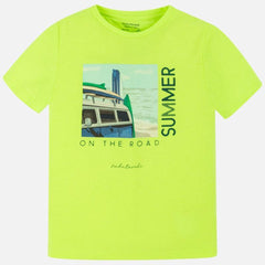 Mayoral Chandails Chandail vert Neon Green t-shirt