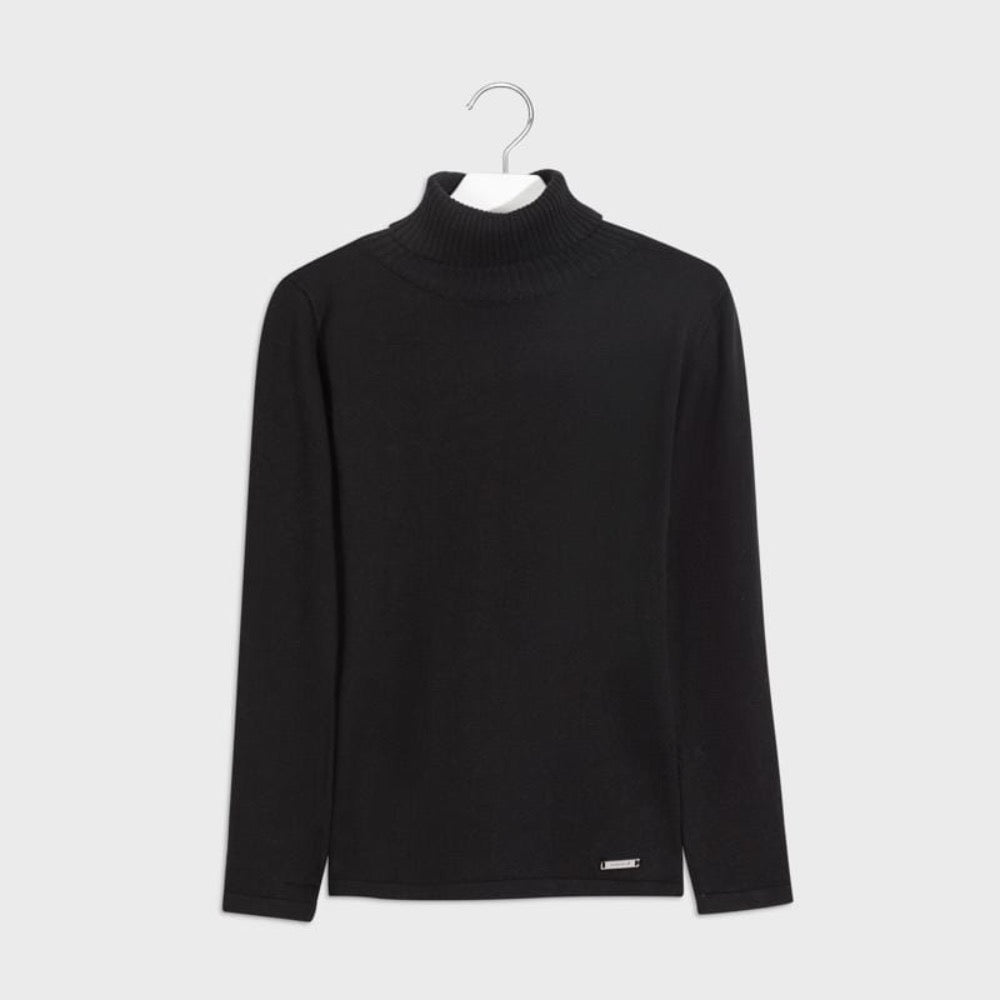 Col roulé noir Black turtleneck