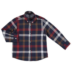 Mayoral Chemises 2Y / Rouge Chemise rouge à carreaux Red check shirt