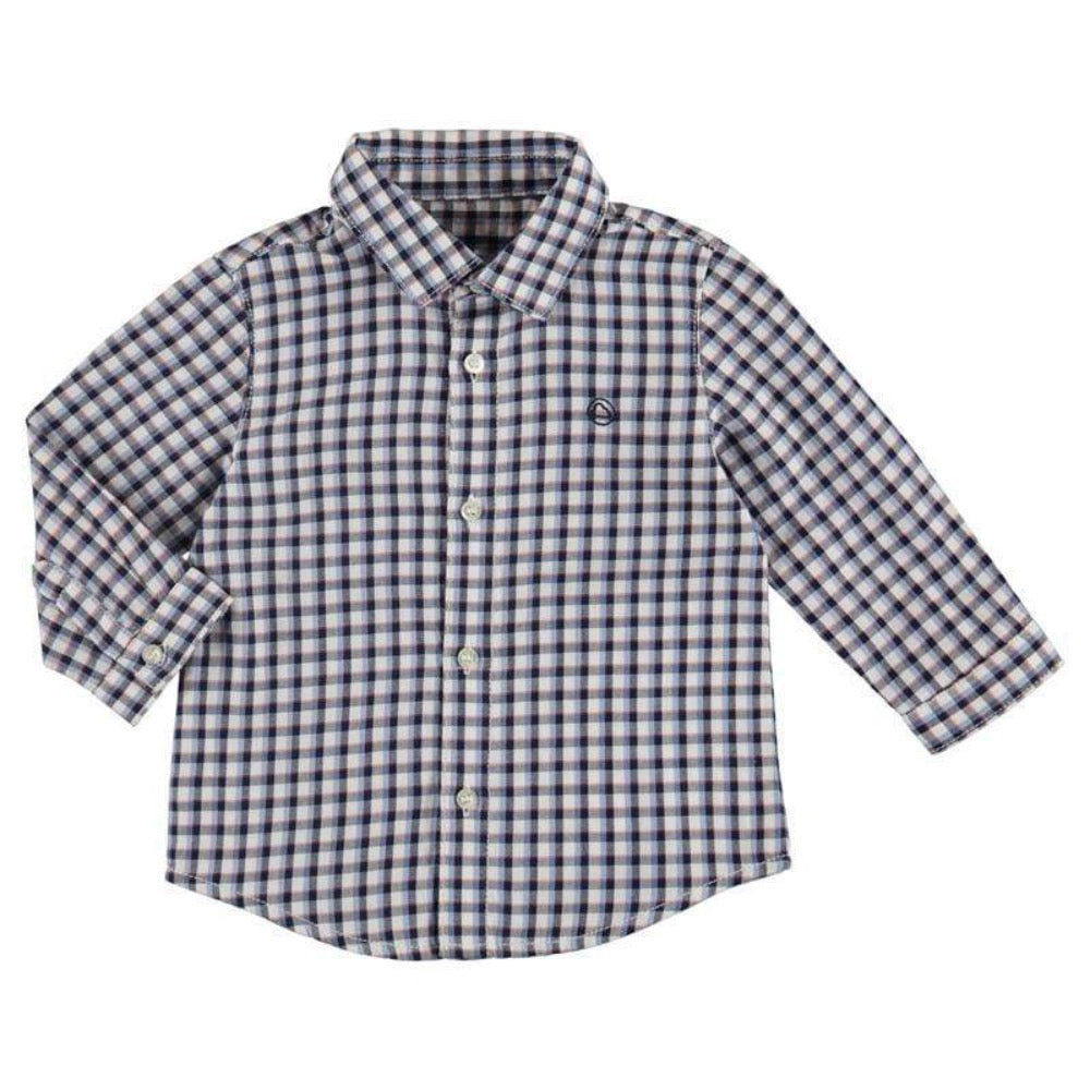 Mayoral Chemises 6M / Bleu Chemise à carreaux viella Check blue shirt