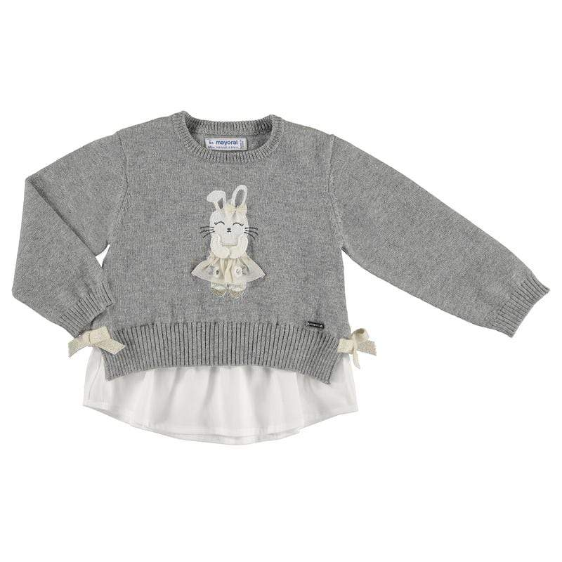 Mayoral Hauts 6M / Gris Pull intarsia Pull