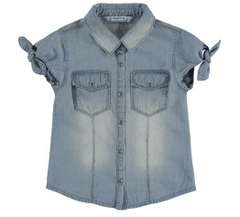 Mayoral Hauts 8Y / Bleu Tunique jean Denim tunic