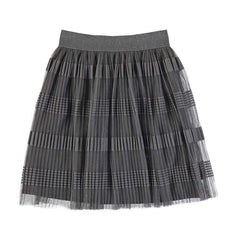 Mayoral Jupes Jupe en tulle grise Grey tulle dress