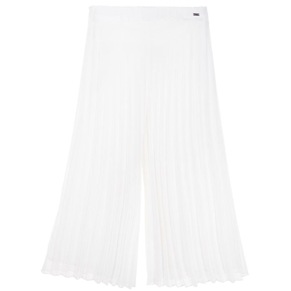 Mayoral Pantalons 14Y Jupe pantalon plissé Pleated Pant Skirt