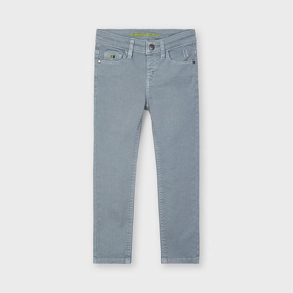 Mayoral Pantalons Pantalon gris sergé Grey twill pants
