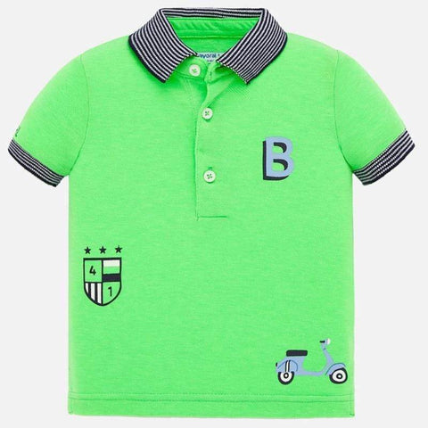 Mayoral Polos Polo vert pomme Apple green polo