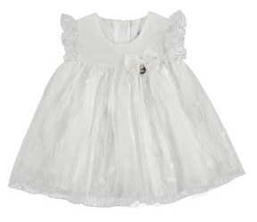 Mayoral Robes 18M / Blanc Robe cérémonie Ceremony dress