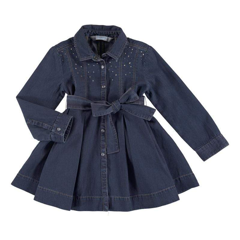 Mayoral Robes 2Y / Bleu Robe en jeans Denim dress