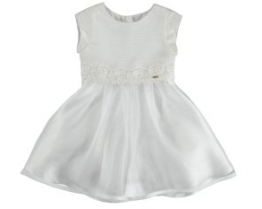 Mayoral Robes 8Y / Blanc Robe blanche cérémonie White ceremony dress