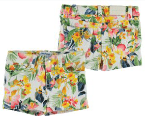 Mayoral Shorts 8Y / Jaune Short tropical Tropical shorts