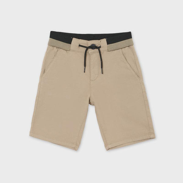 Mayoral Shorts Bermuda beige décontracté Relaxed beige bermudas