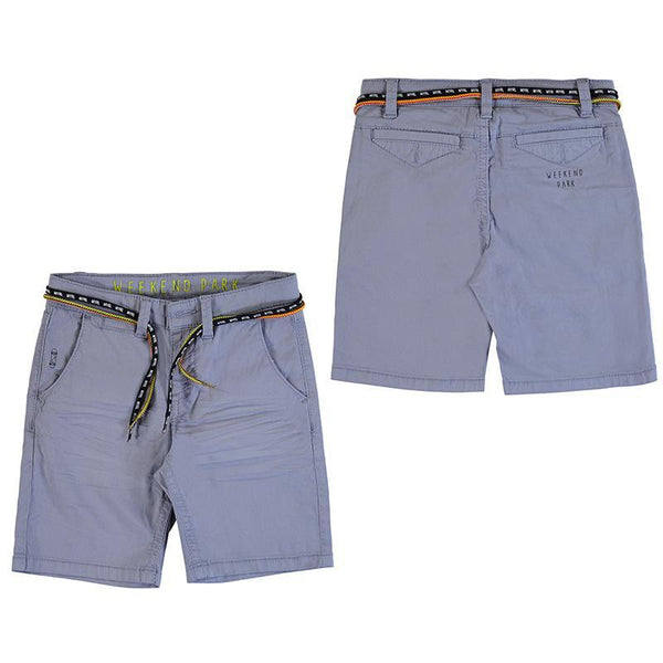 Mayoral Shorts Bermuda bleu clair à cordon Light blue bermudas with drawstring