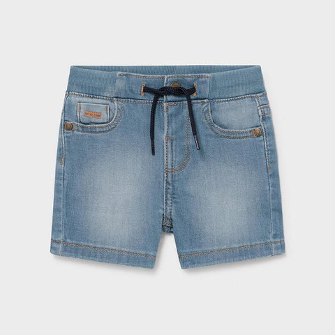 Mayoral Shorts Short en denim extensible Stretchy denim shorts