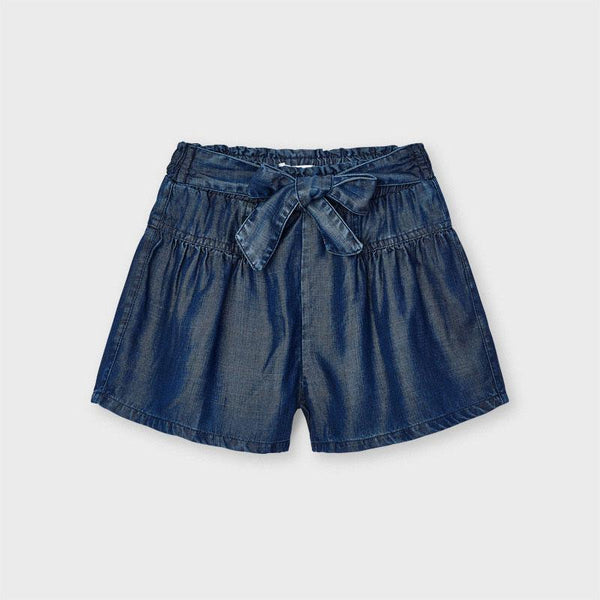 Mayoral Shorts Short fluide en denim Fluid denim shorts