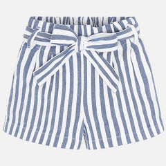 Mayoral Shorts Short rayés Striped shorts