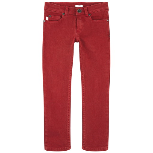 Paul Smith Junior Pantalons 2Y / Rouge Jeans rouge Red jeans