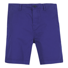 Paul Smith Junior Shorts 12Y / Bleu Bermuda bleu marin Navy blue bermuda