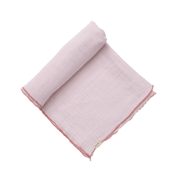 Pehr Accessoires O/S / Rose Couverture douce rose Simply sweet pink swadle