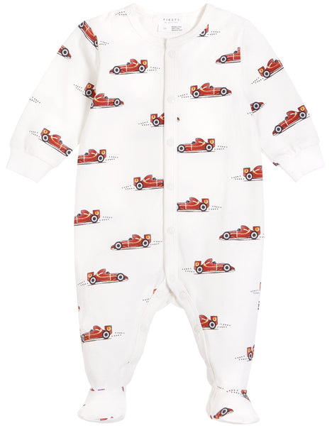 Petit Lem Pyjamas Dormeuse voiture de course race car sleeper