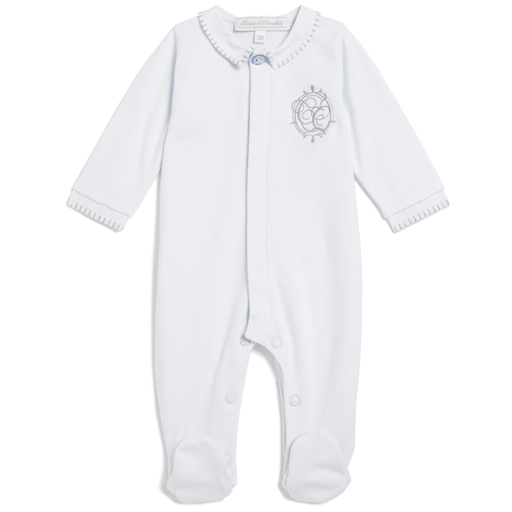 Tartine et Chocolat Pyjamas 6M / Bleu Pyjama bleu pale Light blue pyjama