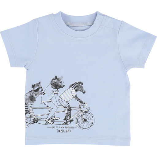 Timberland Chandails 12M / Bleu T-shirt animaux à vélo T-shirt animals on a bike