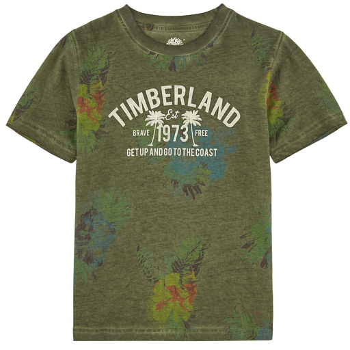 Timberland Chandails 12Y / Vert T-shirt jungle Jungle t-shirt