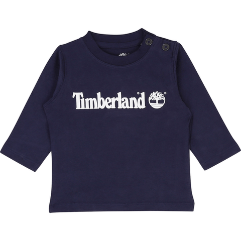 Timberland Chandails 4Y / Bleu Chandail bleu marin Navy blue T-shirt