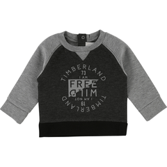 Timberland Pulls 4Y / Noir Sweat gris Grey sweat