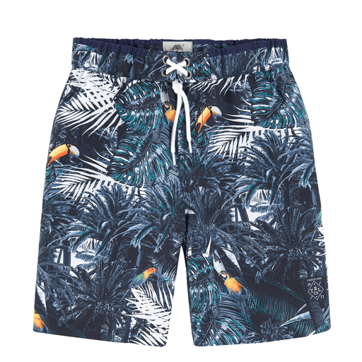 Timberland Tenues de bain 16Y / Bleu Maillot style short Surfer
