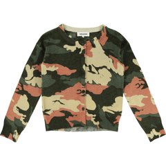 Zadig & Voltaire Cardigans 16Y / Bleu Cardigan camouflage en tricot  Camouflage knitted cardigan