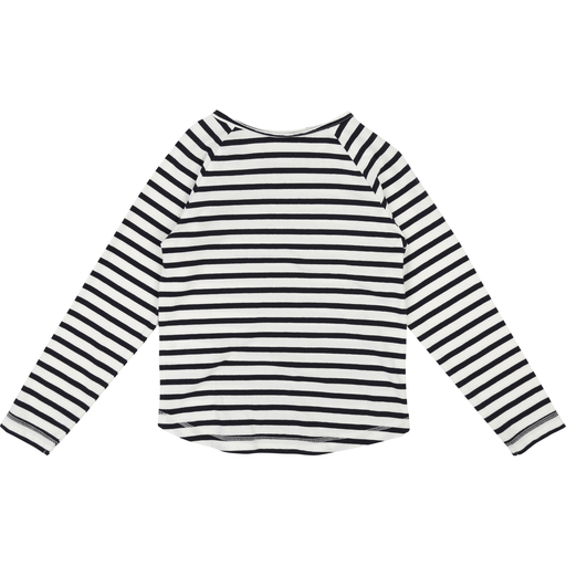 Zadig & Voltaire Chandails 16Y / Bleu Chandail rayé manches longues Blue and white long sleeve T-shirt